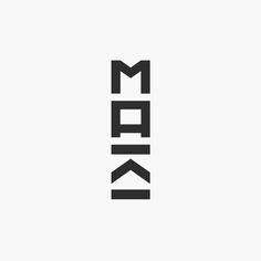Maki Ortner, Architect / Logo by Philipp Zurmöhle – www.philippzm.com Architect Logo, Logos, Logo Design, Company Logo, Logo