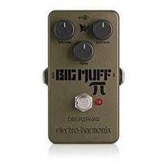 Electro Harmonix Green Russian Big Muff Distortion Pedal på Gear4Music.com
