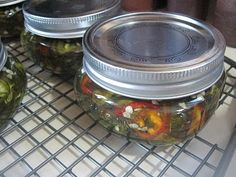 Pinner says: Candied Jalapenos : O. I have been looking for this recipe! These things are to die for! Put a little cream cheese on a Tostito chip & top w/ a pepper. Conservation, Canning Peppers, Cowboy Candy, Sauces, Great Recipes, Favorite Recipes, Healthy Recipes, Yummy Recipes, Candied Jalapenos