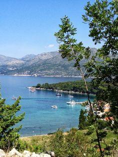 Kolocep Island off of Dubrovnik Croatia
