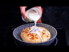 Žádné droždí, maso ani plýtvání časem. Jednoduchý koláč k večeři!| Cookrate - Czech - YouTube Empanadas, Dairy, Ice Cream, Desserts, Food, Vegetarian, Red Bell Peppers, Potatoes, Breakfast