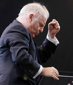 Barenboim, the best of the very best! I adore him...my favorite piano player & conductor! gloria cebfer