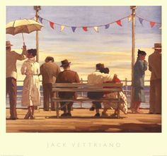 Jack Vettriano the Pier painting is available for sale; this Jack Vettriano the Pier art Painting is at a discount of off. Jack Vettriano, Edward Hopper, The Singing Butler, Framed Art Prints, Art Gallery, Fine Art, Wall Art, Paintings, Umbrellas