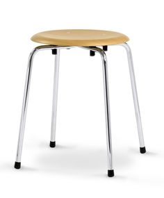 Wilde + Spieth S stool Buche, Chromgestell Bar Stools, Furniture, Home Decor, Stool, Bar Stool Sports, Decoration Home, Room Decor, Counter Height Chairs, Bar Stool