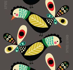 love Helen Dardik work... find more of her work here: http://orangeyoulucky.blogspot.mx/search/label/patterns