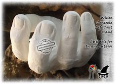 Halloween Hands Life Cast Concrete - Add them to Cloth Draped Ghost......make them stick out from under a heap of soil.....paint them bloody......let them hold bones..candy... Halloween Traditions, Halloween Activities, Halloween Crafts, Origin Of Halloween, Scary Decorations, Diy Party Decorations, Halloween Decorations, Scary Ghost Stories