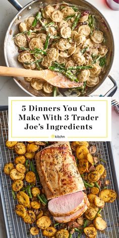 Trader Joe's, Trader Joes Food, Trader Joe Meals, Weeknight Meals, Quick Meals, Easy Dinners, Speedy Dinners, Weekly Dinners, Cooking Recipes