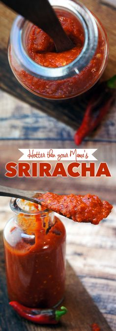 Hotter than your Mama's Sriracha recipe at Foraged Dish. Omg! This sounds fantastic and is so easy to make!