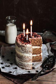White Chocolate Espresso Cake