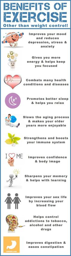 Benefits Of Exercise Other Than Weight Control