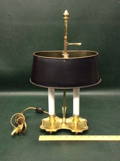 Frederick Cooper, Tole Painting, Desk Lamp, Brass, My Favorite Things, Lighting, My Style, Ebay, Vintage