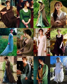 Pride & Prejudice (2005) - starring Keira Knightley as Elizabeth Bennet. The dresses :)