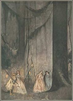 The Forest Fairies, William  M. Timlin