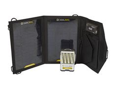 Goal Zero | Portable Solar Power; power all your devices with the sun while traveling or camping.