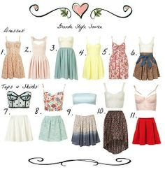 6. Dress  7. Top, Skirt  8. Top, Skirt  9. Top, Skirt  10. Top, Skirt  11. Top, Skirt  There are lots and lots more Ariana (& Cat) inspired dresses from Topshop! I just couldn't fit them all one! :)  -Katelyn