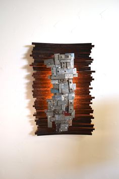 """STUDIO - """"Hehku"""" - Art and wall light, Limited Edition - 100% recycled"""
