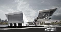 (RJ) Rio de Janeiro | Barra da Tijuca | Pavilhão Hyundai CAOA Rio de Janeiro | Spadoni e Associados Arquitetura - SkyscraperCity