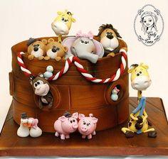 Noah's Ark - Cake by grasie
