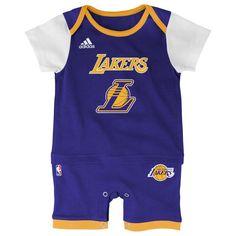 c57da0e22 Lakers Basketball Newborn Jersey Romper. Los Angeles LakersClothing ...
