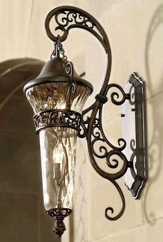 tuscan, sconce, wall lamp