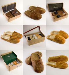 Shoes art: Bread Shoes  http://www.facebook.com/tashi.shoes