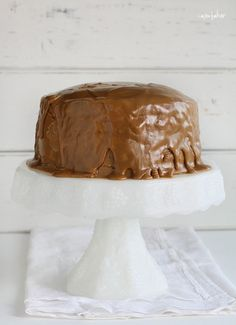 This beautiful layer Coffee Cake is made with coffee, chocolate, and glorious whipped cream! Try this COFFEE CAKE, CHOCOLATE CAKE, CHOCOLATE COFFEE CAKE, COFFEE WHIPPED CREAM, HOMEMADE WHIPPED CREAM, LAYER CAKE, COFFEE FROSTING #coffeecake #coffeecreamcake #pioneerwoman #layercake #chocolate #chocolatecake #coffeewhippedcream