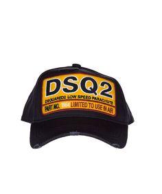 DSQUARED2 Dsquared2 Men'S  Blue Cotton Hat'. #dsquared2 #hats