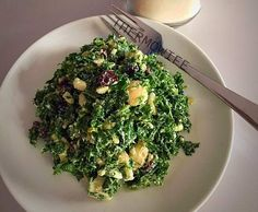 Recipe QUICK KALE SALAD by Thermowife - Recipe of category Main dishes - vegetarian
