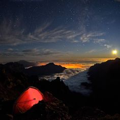 Beautiful place to be camping.