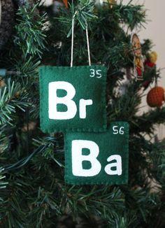 Decoración navideña. 'Breaking Bad'.