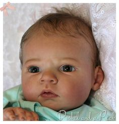 Reborn PROTOTYPE Baby Girl Doll-SABRINA