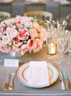 Photography: Jose Villa Photography - Mocha and Blush Wedding