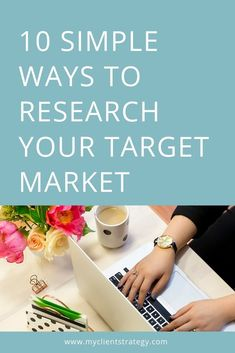 Not sure how to research your target market? Here are 10 simple ways you can find out all you need to know about your ideal clients. Marketing Budget, Small Business Marketing, Marketing Plan, Online Marketing, Media Marketing, Digital Marketing, Mobile Marketing, Facebook Marketing, Inbound Marketing