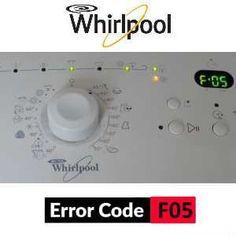 Nájdite poruchu na svojej práčke podľa chybového kódu. Error Code, Washing Machine, Home Appliances, Coding, House Appliances, Appliances, Programming
