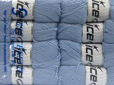 Virgin Wool Fine Hellblau