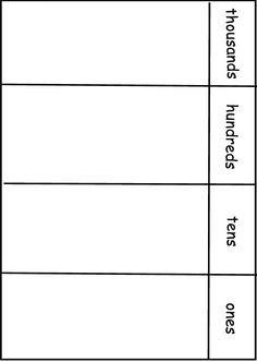 hundreds tens ones chart calendar board place value chart place values place value worksheets. Black Bedroom Furniture Sets. Home Design Ideas