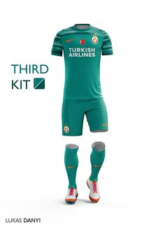 I designed soccer/football kits for Galatasaray SK for the upcoming season 16/17.