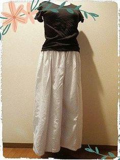 ガウチョパンツの作り方 型紙なしで簡単に縫う レシピ♡ Clothing Patterns, Dress Patterns, Sewing Patterns, Sewing Tutorials, Sewing Crafts, Sewing Projects, Sewing Dolls, Pants Pattern, Easy Wear