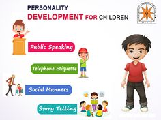 Education and personality development of children both are important segments and also have equal rights in growing student minds for a unique personality. Physical Development, Personal Development, Sports Training, Equal Rights, Public Speaking, New Words, Kids Education, Social Skills, Kids Learning