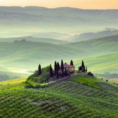 Tuscany recorrer esos  caminos fue inolvidable