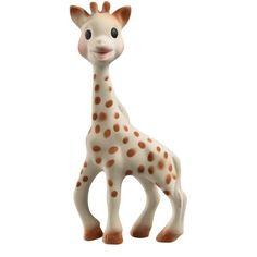 Żyrafa Sophie Vulli - Bezpieczny, ekologiczny gryzak dla dzieci. Żyrafa Sophie wykonana ręcznie we Francji z soku drzewa Hevea