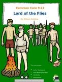 LORD OF THE FLIES Chapter by Chapter Reading Activities Unit