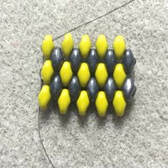 Learn how to do odd-count peyote stitch with SuperDuos on BeadingDaily.com.