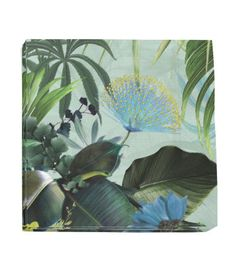 Paper Napkins   Mint green/floral   Home   H&M US