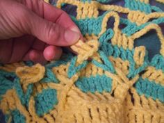 My world of crochet: Tutorial Polish rating: The looping