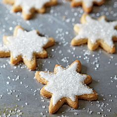 Iced Browned Butter Sugar Cookies - Christmas Cookie Recipes - Cooking Light