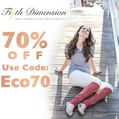 Celebrate you!  We are offering 70% off our entire collection using code Eco70! 🙌
