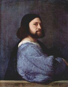 Titian's portrait of a man (self)