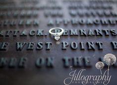 West Point engagement photos
