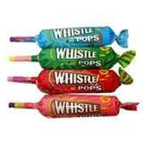 Whistle Pops, I remember having these when I was younger. We bought them for five cents